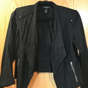 White House Black Market - linen black jacket